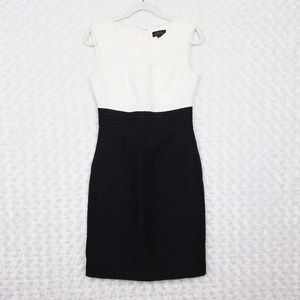Tahari Black and White Dress